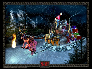 обоя xmas, 2000, видео, игры, blizzard, entertainment