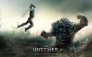 обоя the, witcher, rise, of, white, wolf, видео, игры