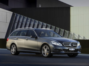 Картинка автомобили mercedes-benz 2013г темный s212 au-spec estate e 200