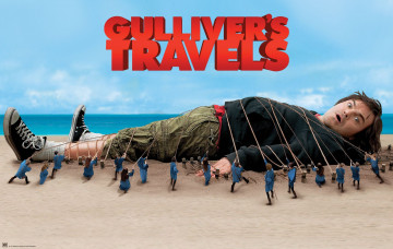 обоя gulliver`s, travels, кино, фильмы, gulliver, s, лилипуты, гулливер, путешествия, гулливера