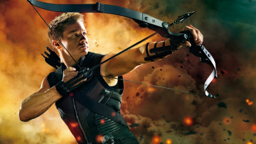 обоя кино фильмы, the avengers, hawkeye, jeremy, renner