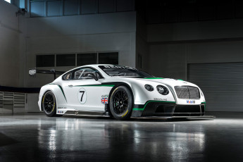 Картинка автомобили bentley 2013 gt3 continental