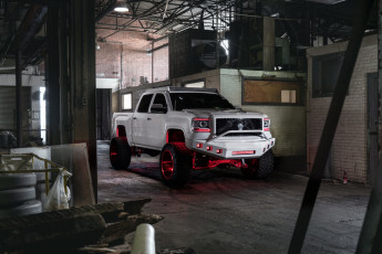обоя автомобили, custom pick-up, gmc