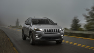 обоя jeep cherokee limited 2019, автомобили, jeep, 2019, limited, cherokee