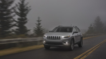 обоя jeep cherokee limited 2019, автомобили, jeep, cherokee, 2019, limited