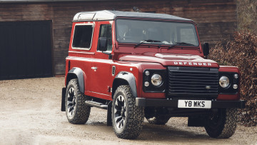 обоя land-rover defender works v8 2018, автомобили, land-rover, 2018, v8, works, defender