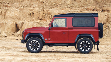 обоя land-rover defender works v8 2018, автомобили, land-rover, defender, 2018, v8, works