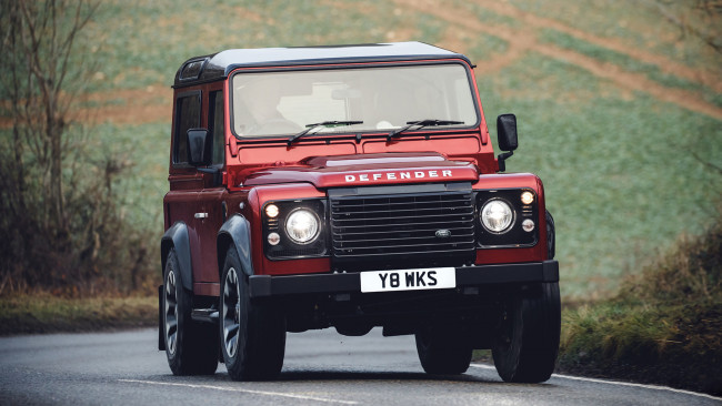 Обои картинки фото land-rover defender works v8 2018, автомобили, land-rover, 2018, v8, works, defender