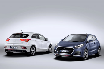 Картинка 2015+hyundai+i30+turbo автомобили hyundai синий белый