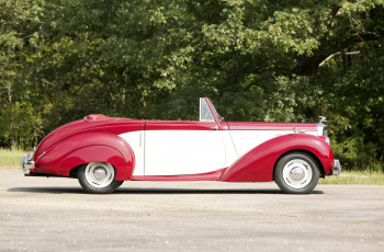 Картинка автомобили классика alvis ta21 drophead coupe tickford 1952г