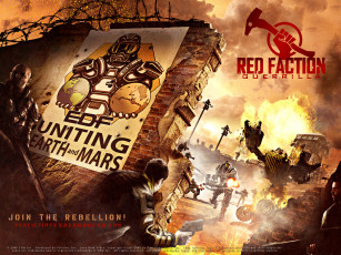 обоя red, faction, guerrilla, видео, игры