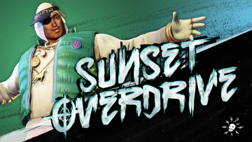 обоя sunset overdrive, видео игры, - sunset overdrive, парень