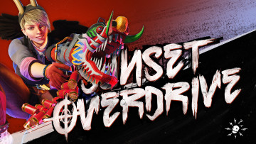 обоя sunset overdrive, видео игры, - sunset overdrive, дракон