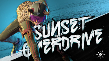 обоя sunset overdrive, видео игры, - sunset overdrive, шлем