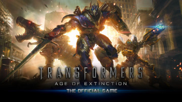 обоя transformers,  age of extinction, видео игры, - transformers, роботы