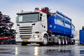 Картинка автомобили scania r490 streamline worldwide