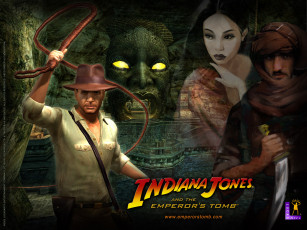 обоя indiana, jones, and, the, emperor`s, tomb, видео, игры