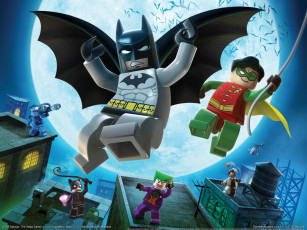 обоя lego, batman, the, video, game, видео, игры