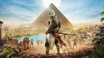 Картинка видео+игры assassin`s+creed +origins шутер assassin's creed origins action