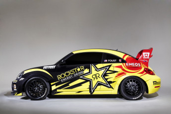 Картинка 2014+volkswagen+beetle+red+bull+global+rallycross автомобили volkswagen ралли тюнинг beetle red bull