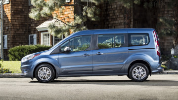 обоя ford transit connect wagon 2019, автомобили, ford, transit, connect, wagon, 2019