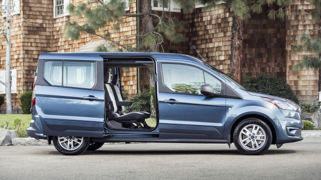Обои картинки фото ford transit connect wagon 2019, автомобили, ford, transit, connect, wagon, 2019