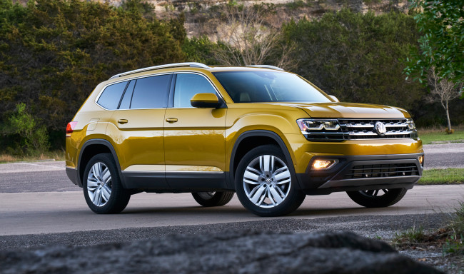 Обои картинки фото volkswagen atlas v6 4motion 2017, автомобили, volkswagen, v6, 2017, 4motion, atlas