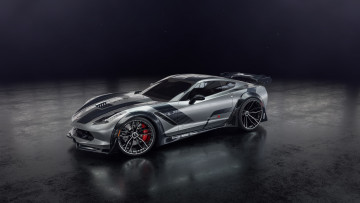Картинка chevrolet+corvette+zr1 автомобили 3д corvette chevrolet zr1 george tanev суперкар шевроле