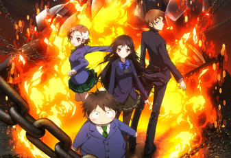 Картинка аниме accel+world accel world