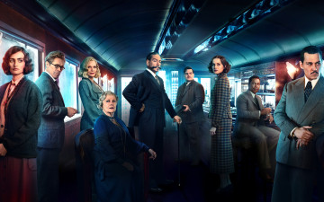 обоя кино фильмы, murder on the orient express , 2017, murder, on, the, orient, express