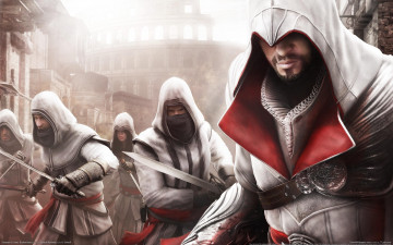 Картинка assassin`s creed brotherhood видео игры