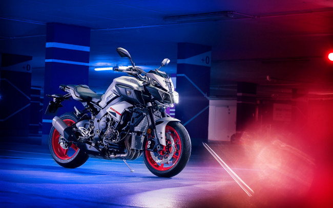 Обои картинки фото 2019 yamaha mt-10, мотоциклы, yamaha, 2019, mt10, author, matthijs, van, roon