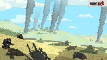 обоя valiant hearts,  the great war, видео игры, - valiant hearts, квест, war, great, the, hearts, valiant, адвенчура, головоломка