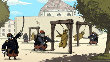 обоя valiant hearts,  the great war, видео игры, - valiant hearts, адвенчура, valiant, головоломка, квест, war, great, the, hearts