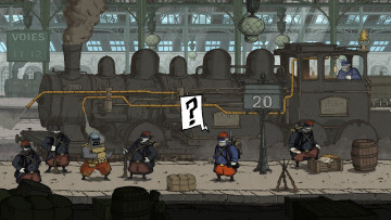 обоя valiant hearts,  the great war, видео игры, - valiant hearts, адвенчура, головоломка, the, hearts, war, квест, valiant, great