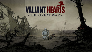 обоя valiant hearts,  the great war, видео игры, - valiant hearts, war, great, the, hearts, valiant, адвенчура, головоломка, квест