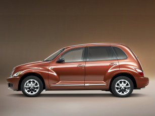 обоя chrysler street pt cruiser sunset boulevard 2008, автомобили, chrysler, 2008, street, pt, cruiser, sunset, boulevard