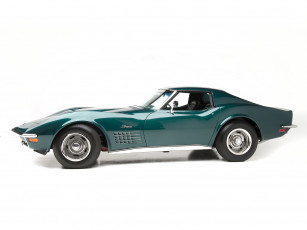 обоя corvette stingray zr-2 ls6 454, 425 hp 1971, автомобили, corvette, 454-425, ls6, 1971, hp, zr-2, stingray