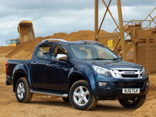 обоя isuzu d-max double cab uk-spec 2012, автомобили, isuzu, d-max, double, cab, uk-spec, 2012