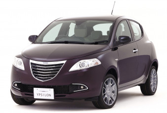 обоя chrysler ypsilon purple 2013, автомобили, chrysler, 2013, purple, ypsilon