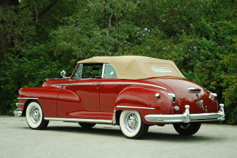 обоя chrysler windsor convertible 1946, автомобили, chrysler, windsor, 1946, convertible