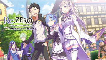 Картинка аниме re +zero+kara+hajimeru+isekai+seikatsu rezero starting life in another world th