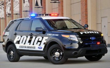 Картинка автомобили полиция ford police interceptor