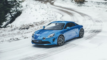 обоя alpine 110 premi&, 232, re edition 2018, автомобили, alpine, 110, premiere, edition, 2018