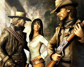 обоя call, of, juarez, bound, in, blood, видео, игры