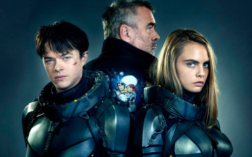 обоя кино фильмы, valerian and the city of a thousand planets, коллаж