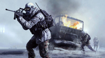обоя call, of, duty, modern, warfare, видео, игры, 4, шутер