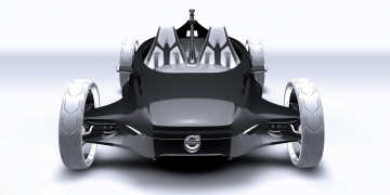 Картинка volvo+air+motion+concept+2010 автомобили 3д 2010 concept air volvo motion