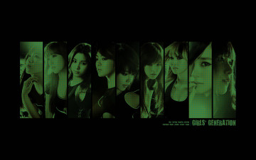 обоя girls-generation, музыка, -временный, группа