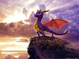обоя the, legend, of, spyro, dawn, dragon, видео, игры